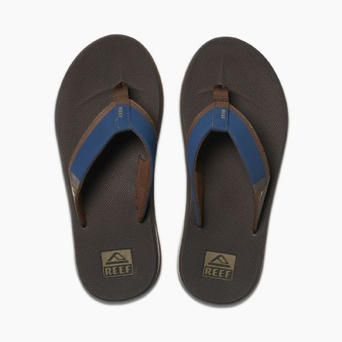 d9ab13826ad REEF MENS FLIP FLOPS.FANNING LOW NAVY ARCH SUPPORT THONGS SANDALS SHOES 9S  3 NBO